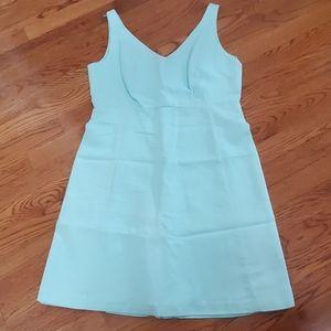 J. Crew size 12 pale mint green dress